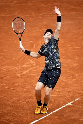 Kyle Edmund Great Britain 2019 French Open Day Two