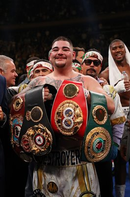 Andy Ruiz Jr. World Heavyweight Champion New York 2019