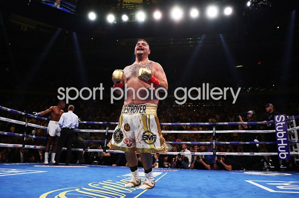 Andy Ruiz Jr.beats Anthony Joshua Madison Square Garden New York 2019