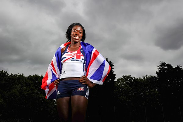 Christine Ohuruogu Portrait Session 2011