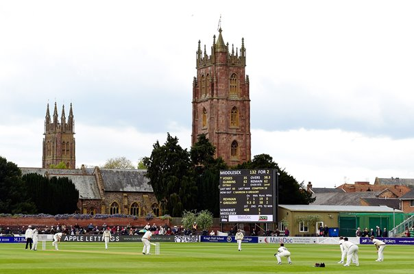 County Ground Somerset v Middlesex County Championship 2015