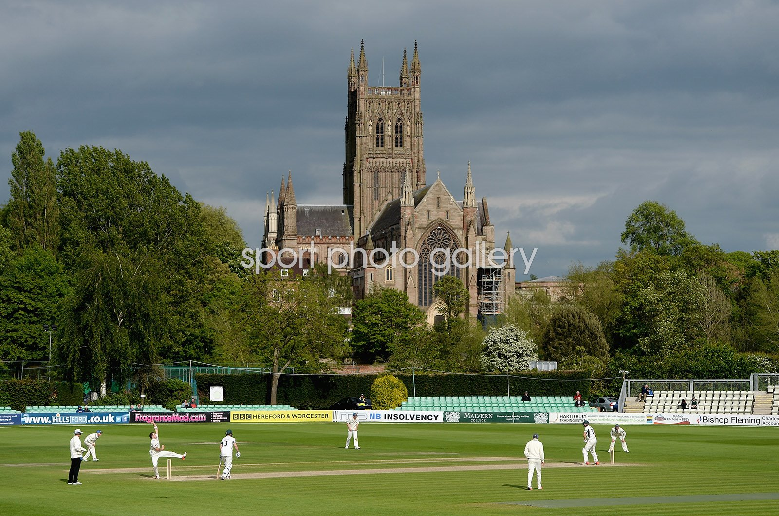 New Road Worcestershire v New Zealand Tour Match 2015