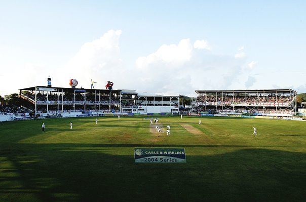 Recreation Ground Antigua West Indies v England 4th Test 2004