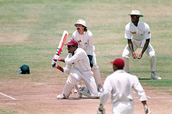 Brian Lara West Indies Test Record 375 v England Antigua 1994