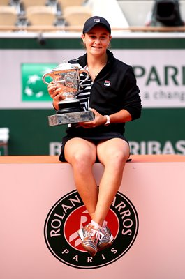 Ashleigh Barty Australia French Open Champion Paris 2019