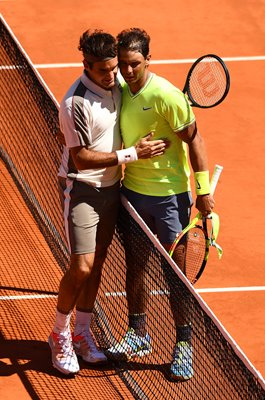 Rafael Nadal & Roger Federer French Open Semi-Final 2019