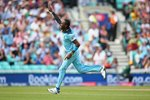 Jofra Archer England celebrates v South Africa World Cup 2019 Canvas