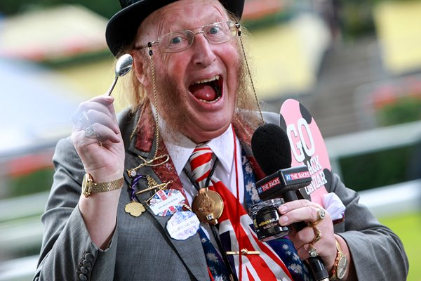 John McCririck Royal Ascot