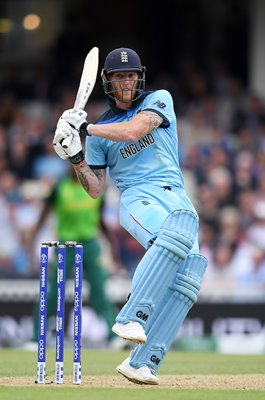 Ben Stokes England batting v South Africa World Cup 2019