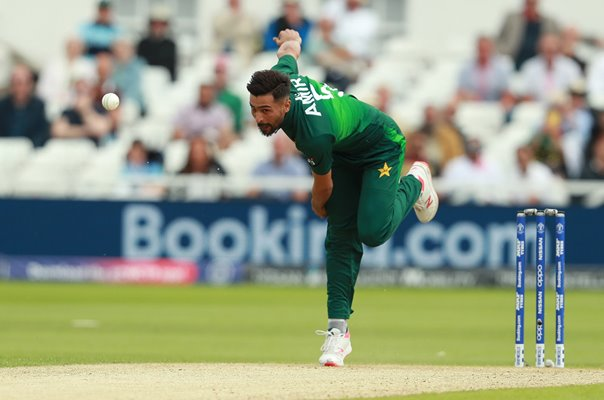 Mohammad Amir Pakistan v England World Cup 2019