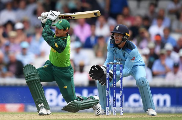 Quinton De Kock South Africa v Jo Buttler England World Cup 2019