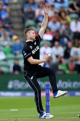 Jimmy Neesham New Zealand v Afghanistan World Cup 2019