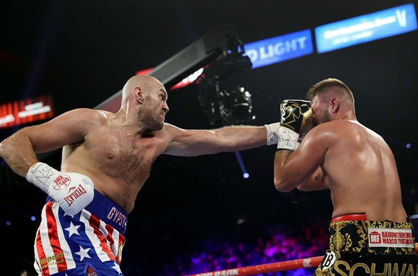 Tyson Fury v Tom Schwarz Heavyweight Boxing Las Vegas 2019