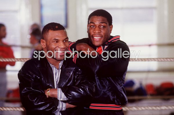 Mike Tyson & Frank Bruno Title Fight Las Vegas 1989