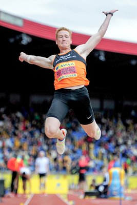 Greg Rutherford Long Jump Birmingham 2012