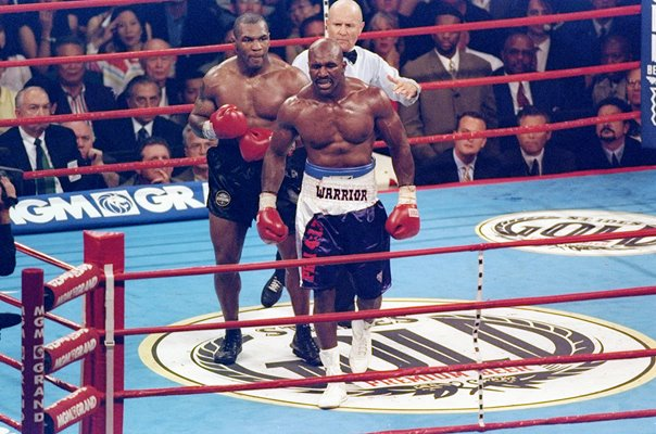 Evander Holyfield v Mike Tyson Title Fight Las Vegas 1997