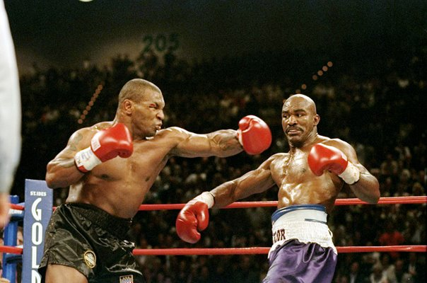 Mike Tyson v Evander Holyfield World Title Fight Las Vegas 1997