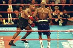 Evander Holyfield beats Mike Tyson Heavyweight Fight Las Vegas 1996 Prints