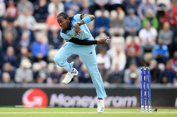 Jofra Archer England v West Indies Southampton World Cup 2019