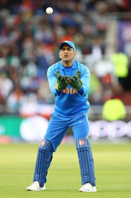 MS Dhoni Indian Wicket Keeper v Pakistan Old Trafford World Cup 2019