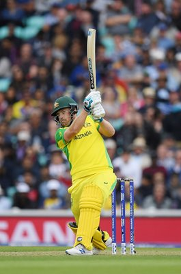 Aaron Finch Australia batting v Sri Lanka World Cup 2019
