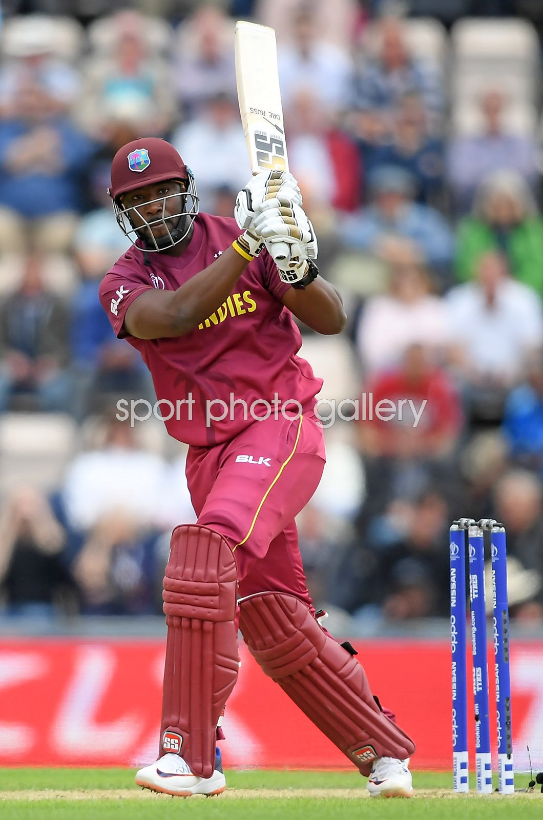 Andre Russell West Indies batting v England World Cup 2019