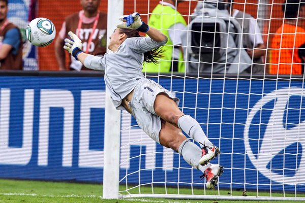 Hope Solo USA Penalty Save v Brazil World Cup 2011
