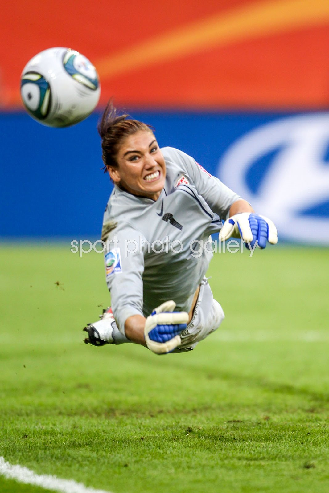 Hope Solo USA Penalty Save v Brazil Women's World Cup 2011