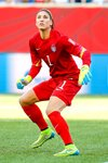 Hope Solo USA Goal Keeper v Sweden World Cup 2015 Canvas