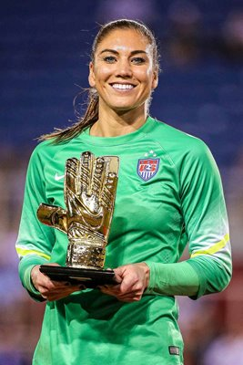 Hope Solo USA Golden Glove Winner SheBelieves Cup Florida 2016
