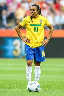 Marta Brazil Football Legend Women's World Cup 2011