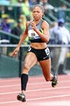 Allyson Felix USA Athletics Trials Oregon 2012 Mounts