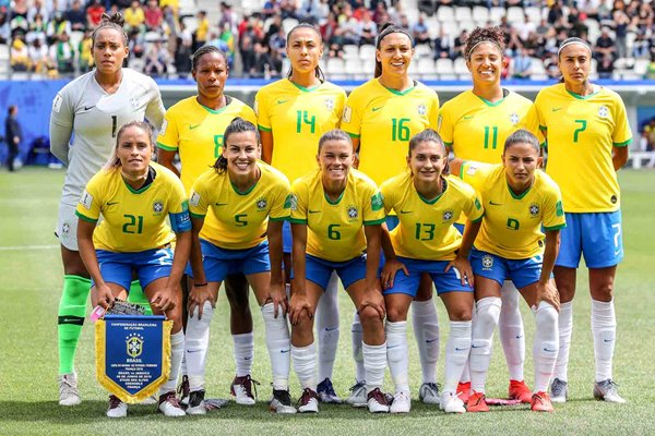 Brazil Team v Jamaica Women's World Cup 2019
