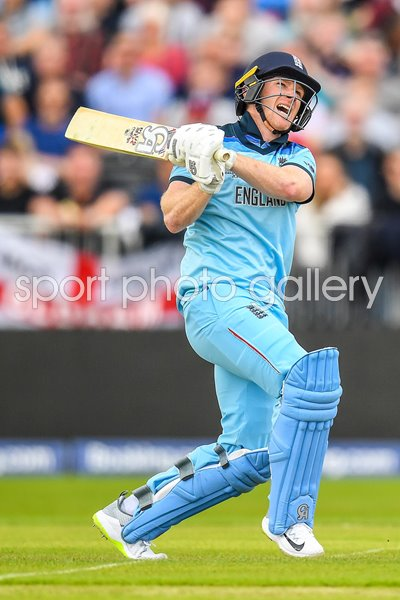Eoin Moragn England Sixes Record v Afghanistan World Cup 2019
