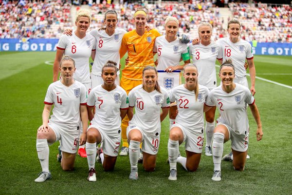 England Team v Scotland Nice Women's World Cup 2019