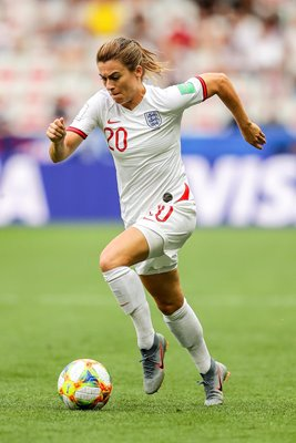 Karen Carney England v Scotland Women's World Cup 2019