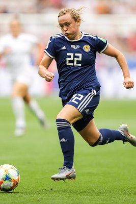 Erin Cuthbert Scotland v England Women's World Cup 2019