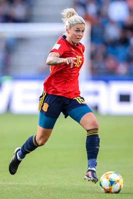 Maria Leon Spain v South Africa Women's World Cup 2019