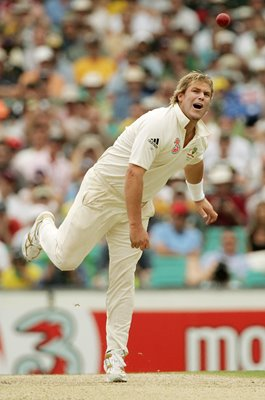 Shane Warne Australia Wrist Spinner 5th Ashes Test Sydney 2007