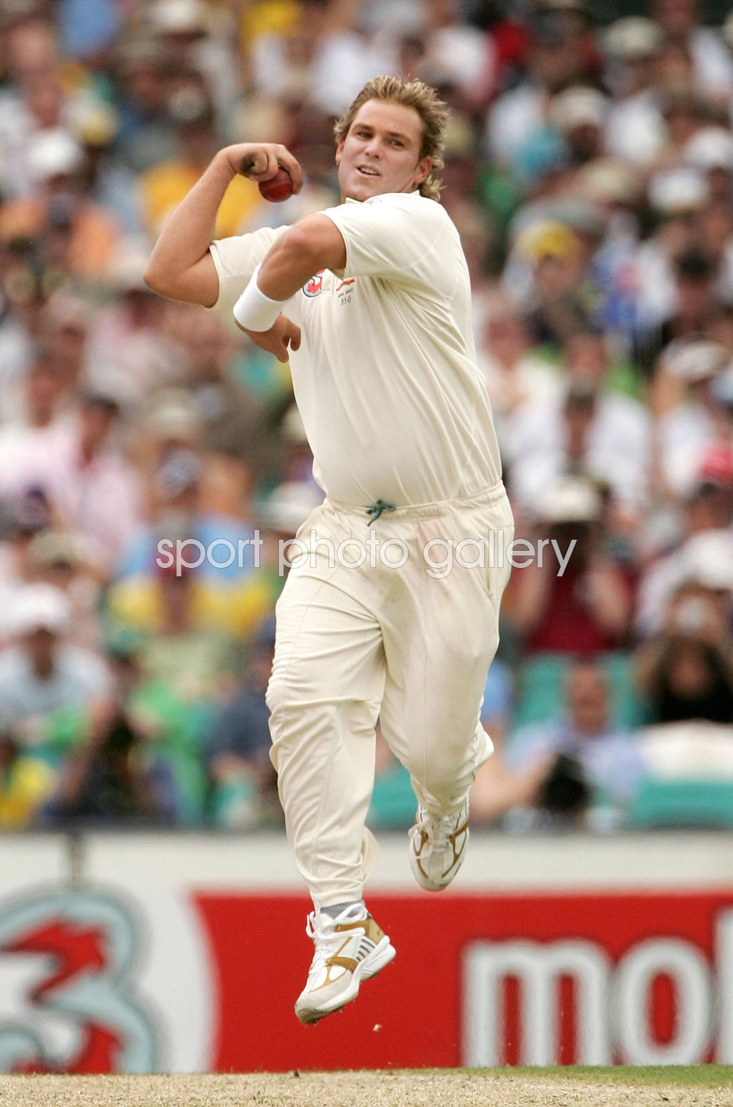 Shane Warne Australia Leg Spinner 5th Ashes Test Sydney 2007