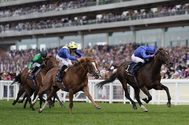 James Doyle & Blue Point win Diamond Jubilee Stakes Royal Ascot 2019