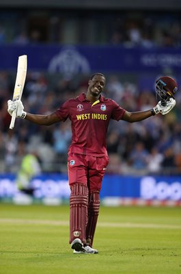 Carlos Brathwaite West Indies Century v New Zealand World Cup 2019