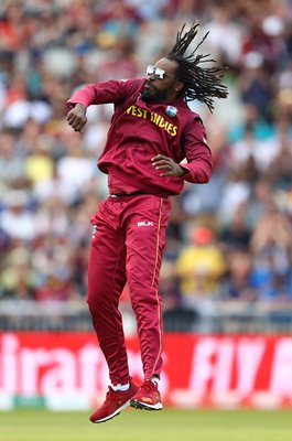 Chris Gayle West Indies wicket v New Zealand World Cup 2019