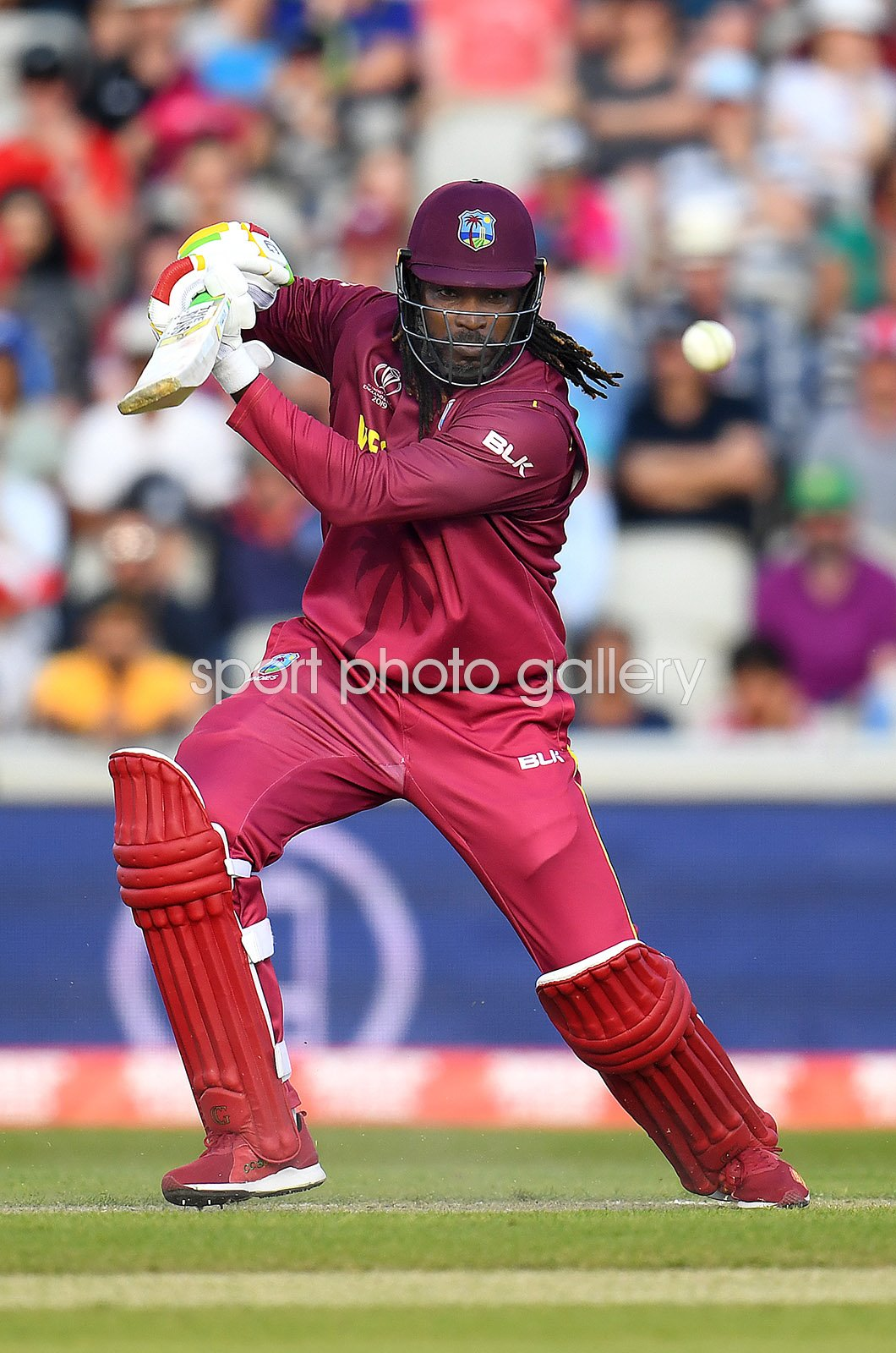Chris Gayle West Indies v New Zealand World Cup 2019