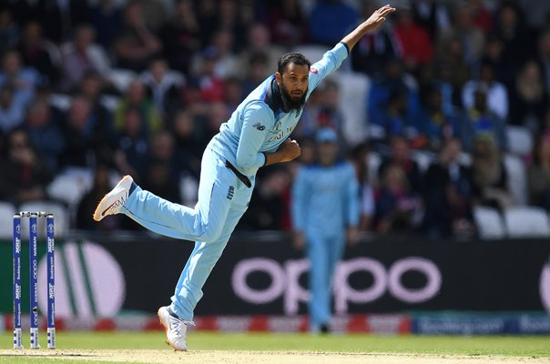 Adil Rashid England v Sri Lanka Headingley World Cup 2019