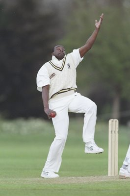 Gladstone Small Warwickshire and England bowler 1996