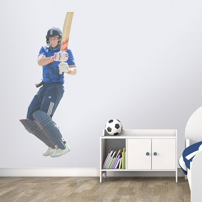 JOE ROOT ENGLAND V WEST INDIES ODI BARBADOS 2017 WALL STICKER