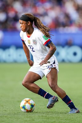 Jessica McDonald USA v Chile Group F Paris World Cup 2019