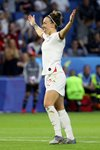 Lucy Bronze England celebrates goal v Norway World Cup 2019 Prints