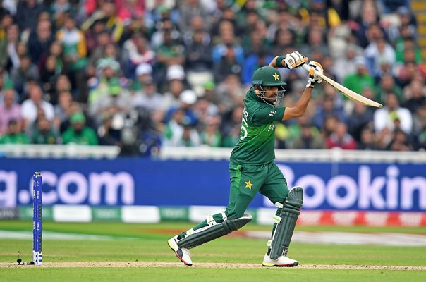 Babar Azam Pakistan v New Zealand Edgbaston World Cup 2019